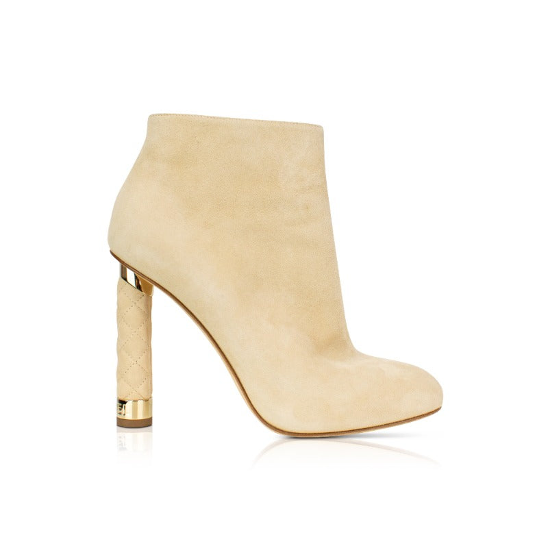 Chanel Ankle Boots - 38 - Fashionably Yours
