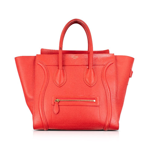 Celine 'Mini Luggage Tote' Bag