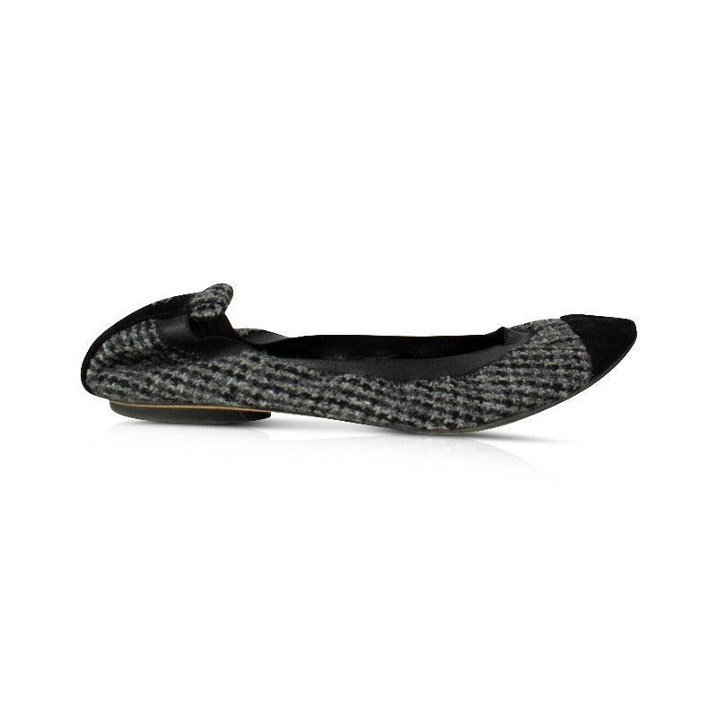 Chanel Ballerina Flats - 37.5 - Fashionably Yours Design Consignment