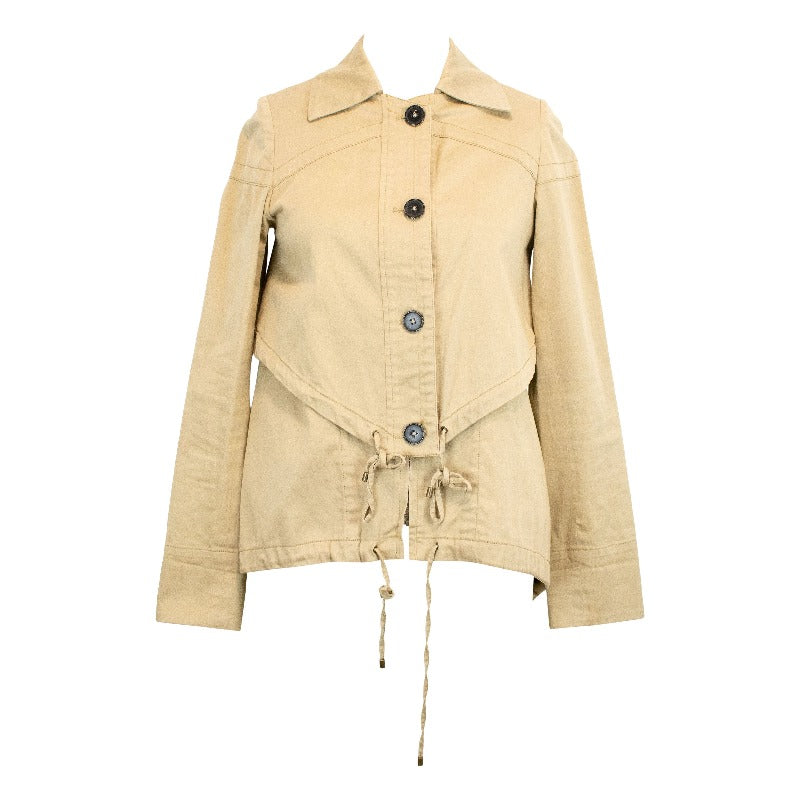 Derek Lam Khaki Jacket - 2 - Fashionably Yours Design Consignment