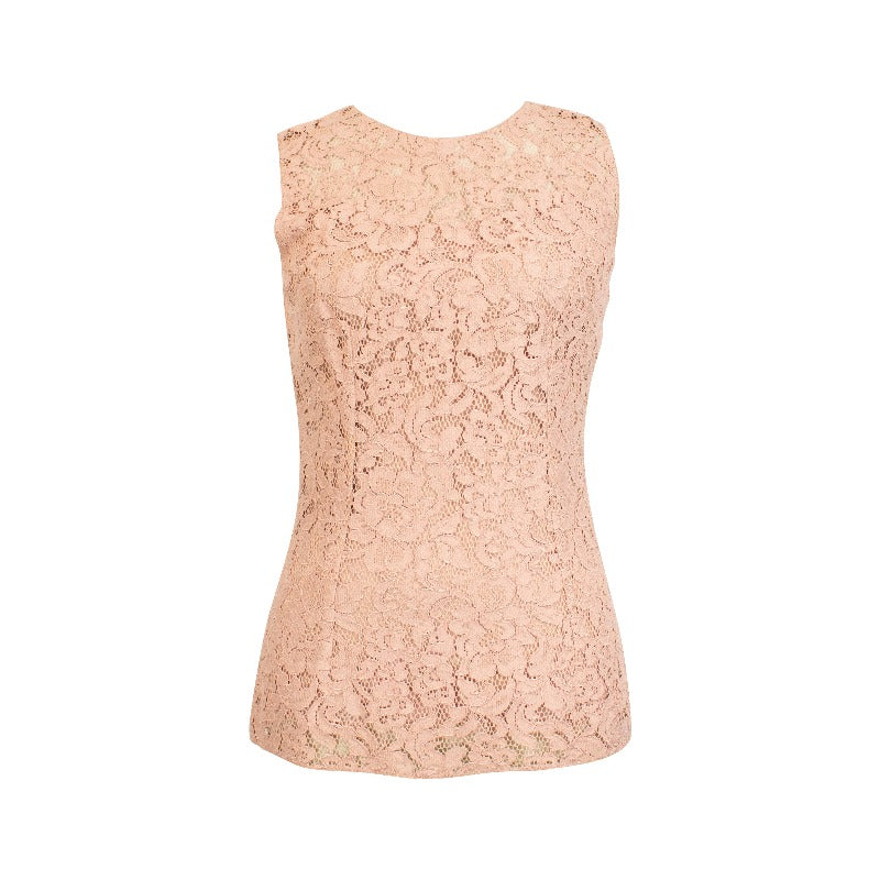 Dolce & Gabbana Lace Top - 40 - Fashionably Yours Design Consignment