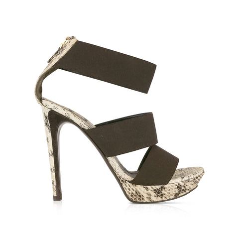 Fendi Python Heels - 39 - Fashionably Yours Design Consignment