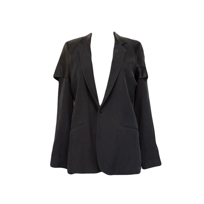 Each & Other Layered Blazer - S - Fashionably Yours Design Consignment