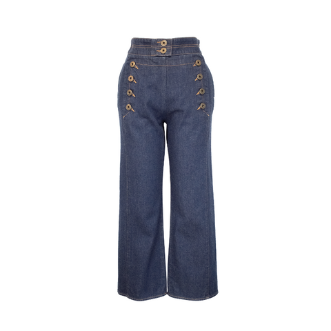 Chloe Nautical Jeans - 34/36 - Fashionably Yours