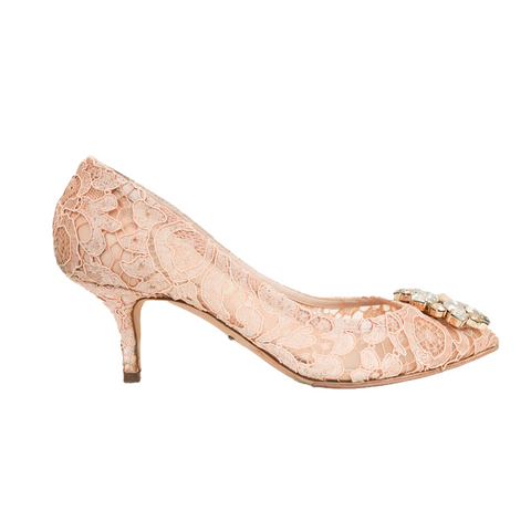 Dolce & Gabbana 'Bellucci Crystal' Pumps - 36.5 - Fashionably Yours Design Consignment