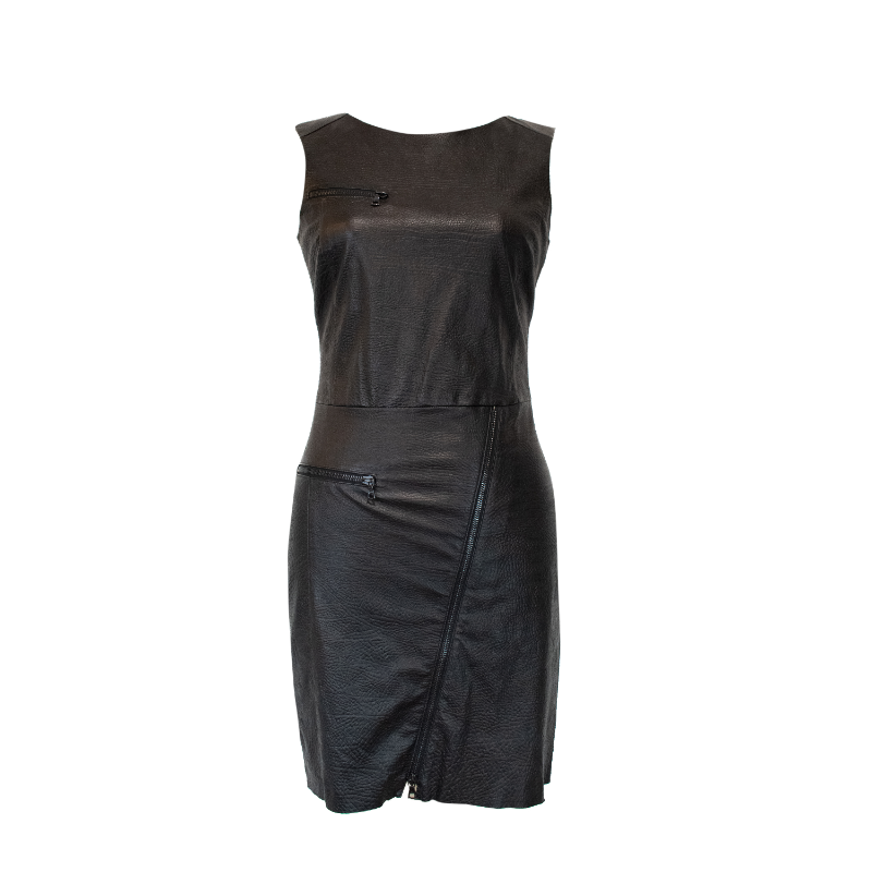 Drome Leather Dress - M - Fashionably Yours Design Consignment