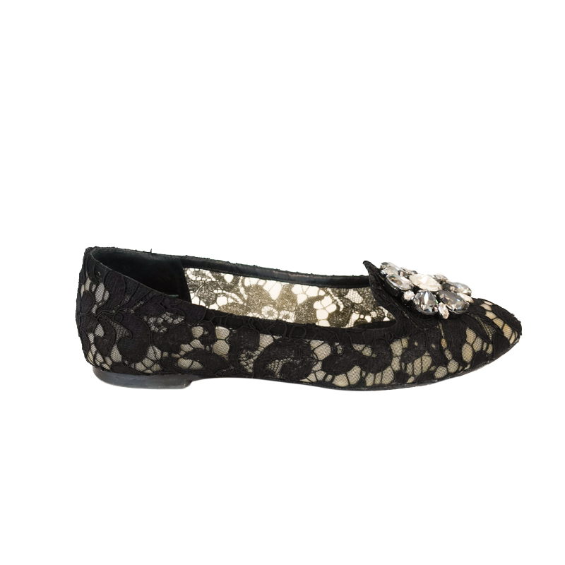Dolce & Gabbana 'Vally' Flats - 36.5 - Fashionably Yours Design Consignment