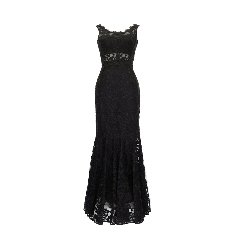 Dolce & Gabbana Lace Gown - 38 - Fashionably Yours