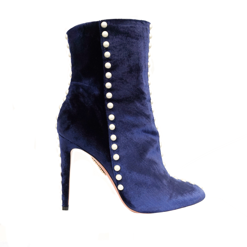 Aquazzura 'Folie' Boots - 37 - Fashionably Yours Design Consignment