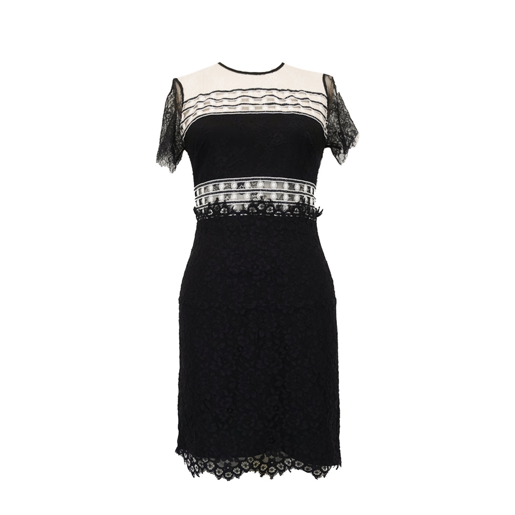 Sandro Lace Dress - 1 - Fashionably Yours Design Consignment