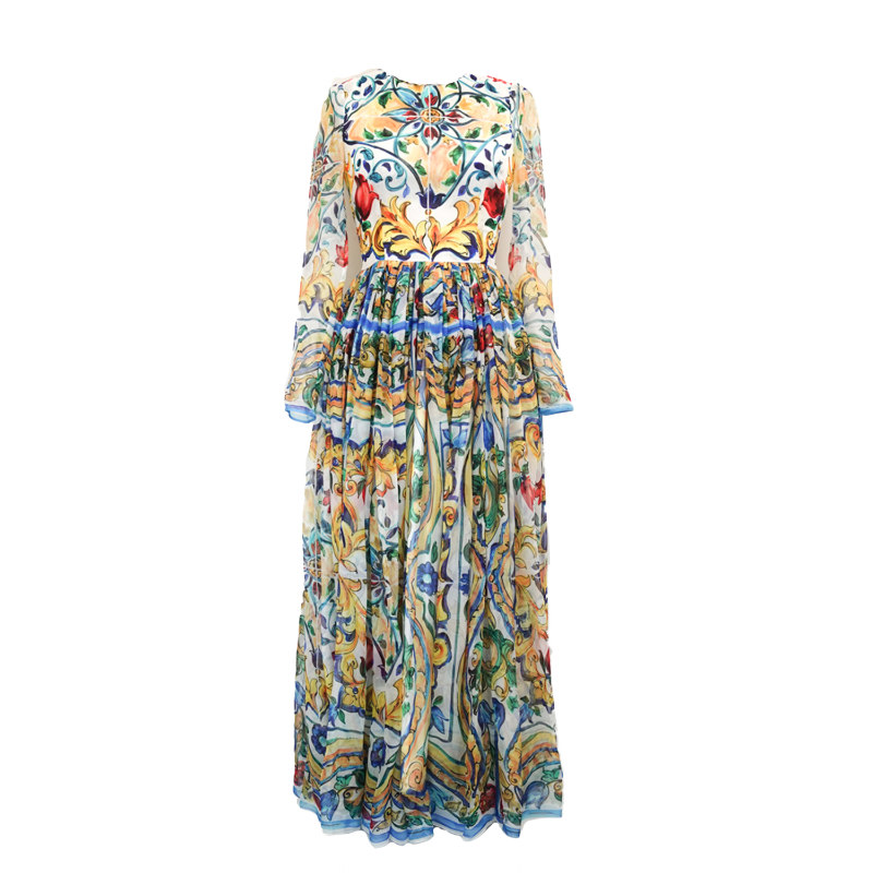 Dolce & Gabbana Silk Dress - 38 - Fashionably Yours Design Consignment