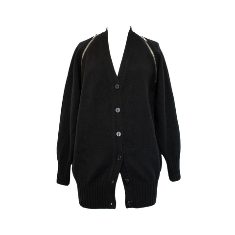 Alexander Wang Zipper Cardigan - XS - Fashionably Yours Design Consignment