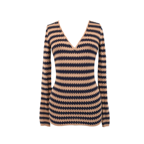 Burberry Prorsum Striped Sweater - S - Fashionably Yours Design Consignment