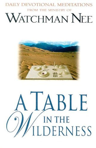 A Table in the Wilderness