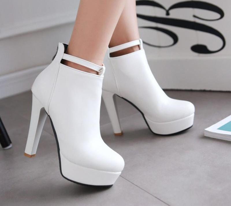 Ghost Ankle Boots