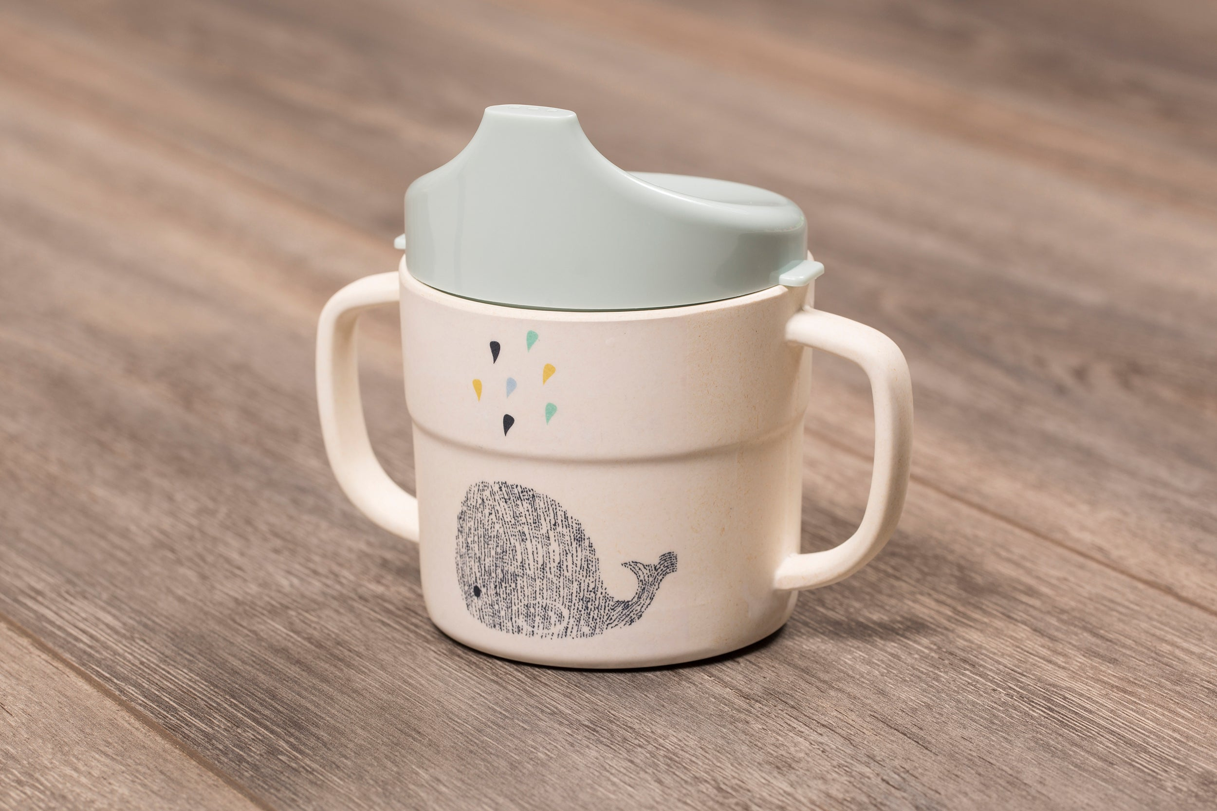 Bamboo Sippy Cup - The Little Whale