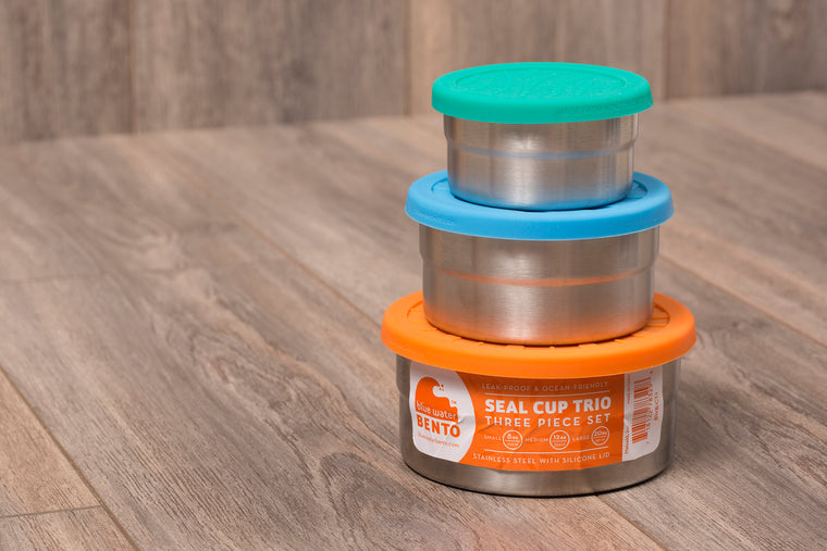 Eco Lunch Box-Seal Cup Trio