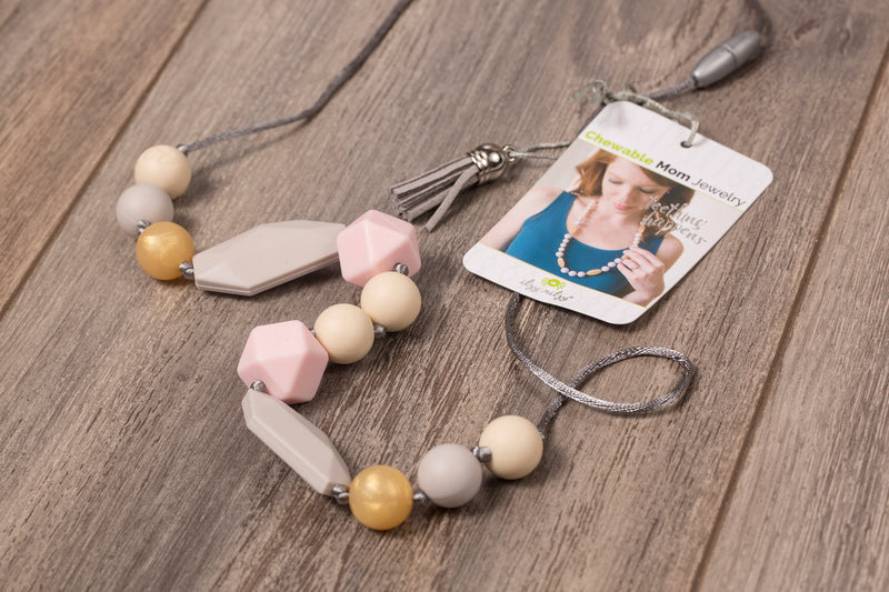 Teething Necklace - Silicone - Teether
