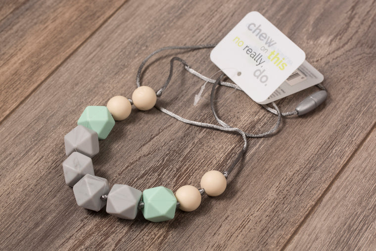 Itzy Ritzy - Surf Mist Teething Necklace