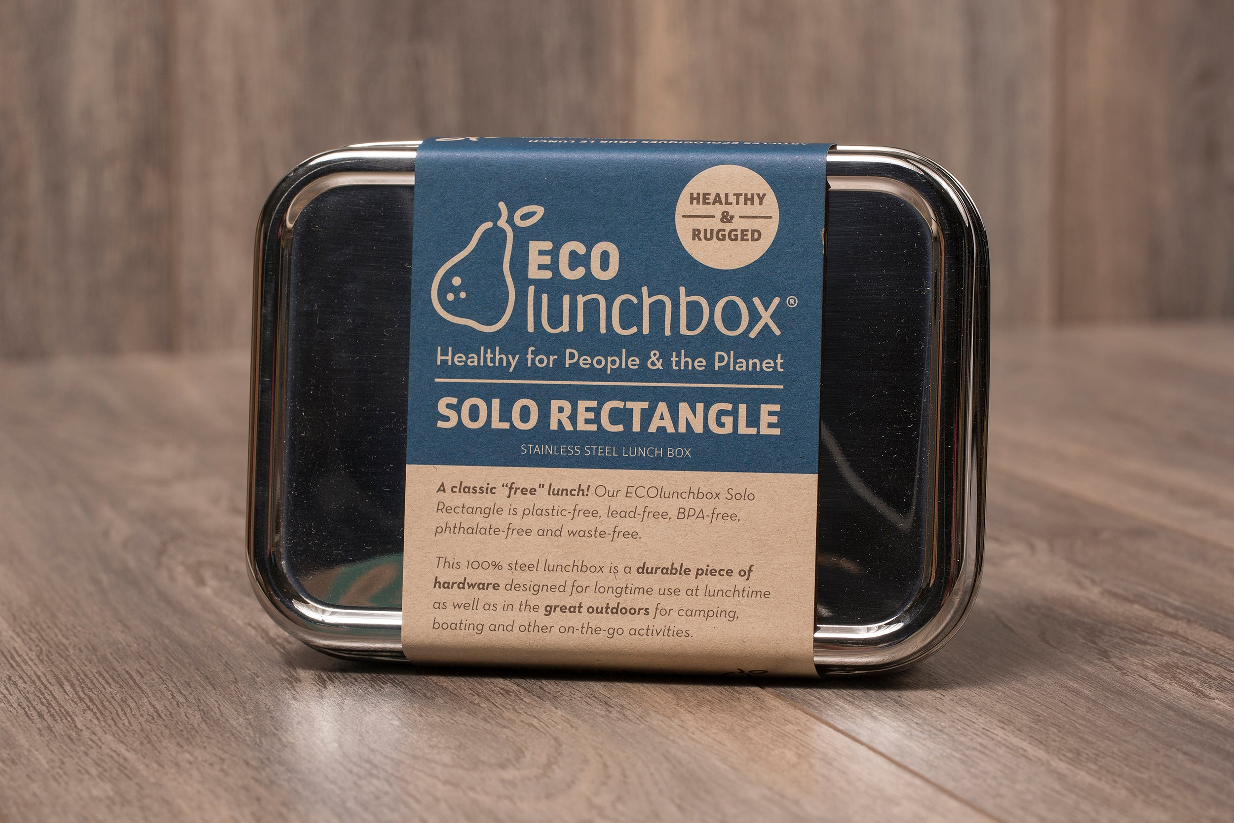 stainless steel lunchbox - bento box - plastic free