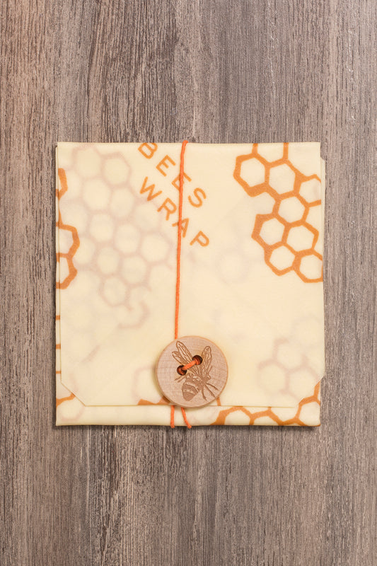 Plastic bag alternative - organic cotton beeswax