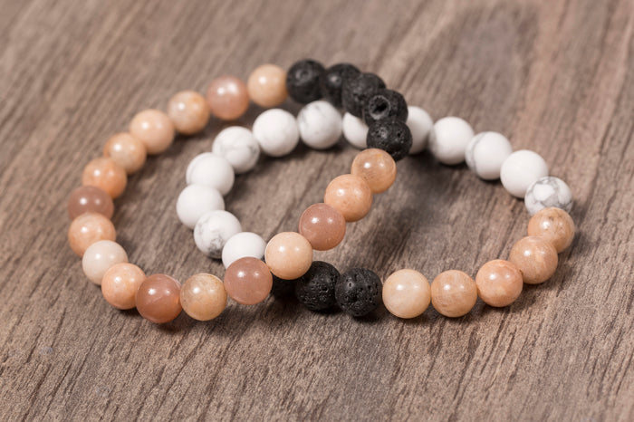 Bracelet - Lava Bead - Essential Oils