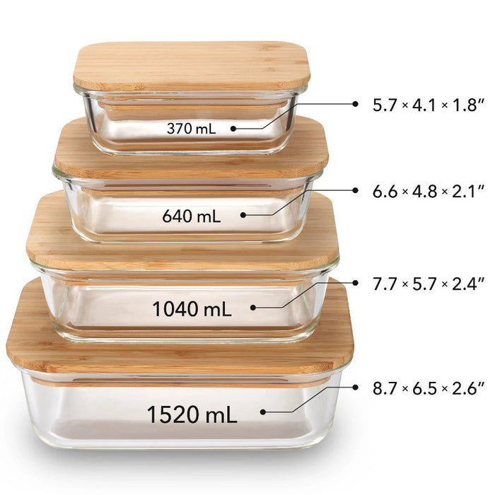Bamboo Food Storage