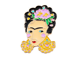 Frida Kahlo Inspired Pin The Bohemain's Closet