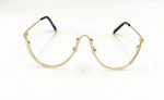 The Berkley Clear Rimless Glasses, The Bohemian's Closet