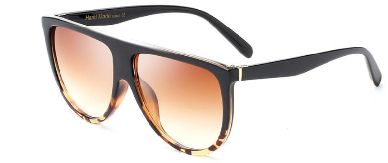The Calabasas Flat top Tortoise Shell Sunnies The Bohemian's Closet