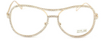 The Beverly Rhinestone Clear Glasses The Bohemian's Closet
