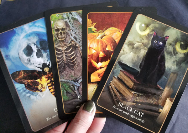 Halloween Oracle by Stacey Demarco~