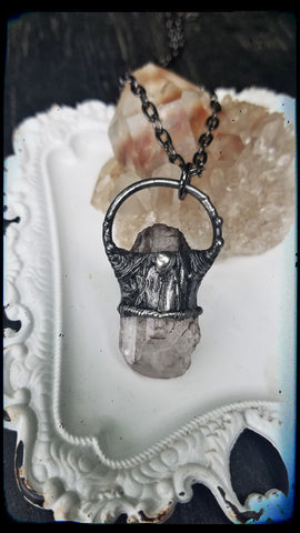 Danburite stacker Crystal Talisman necklace~