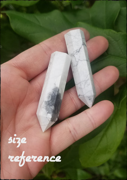 Howlite points~