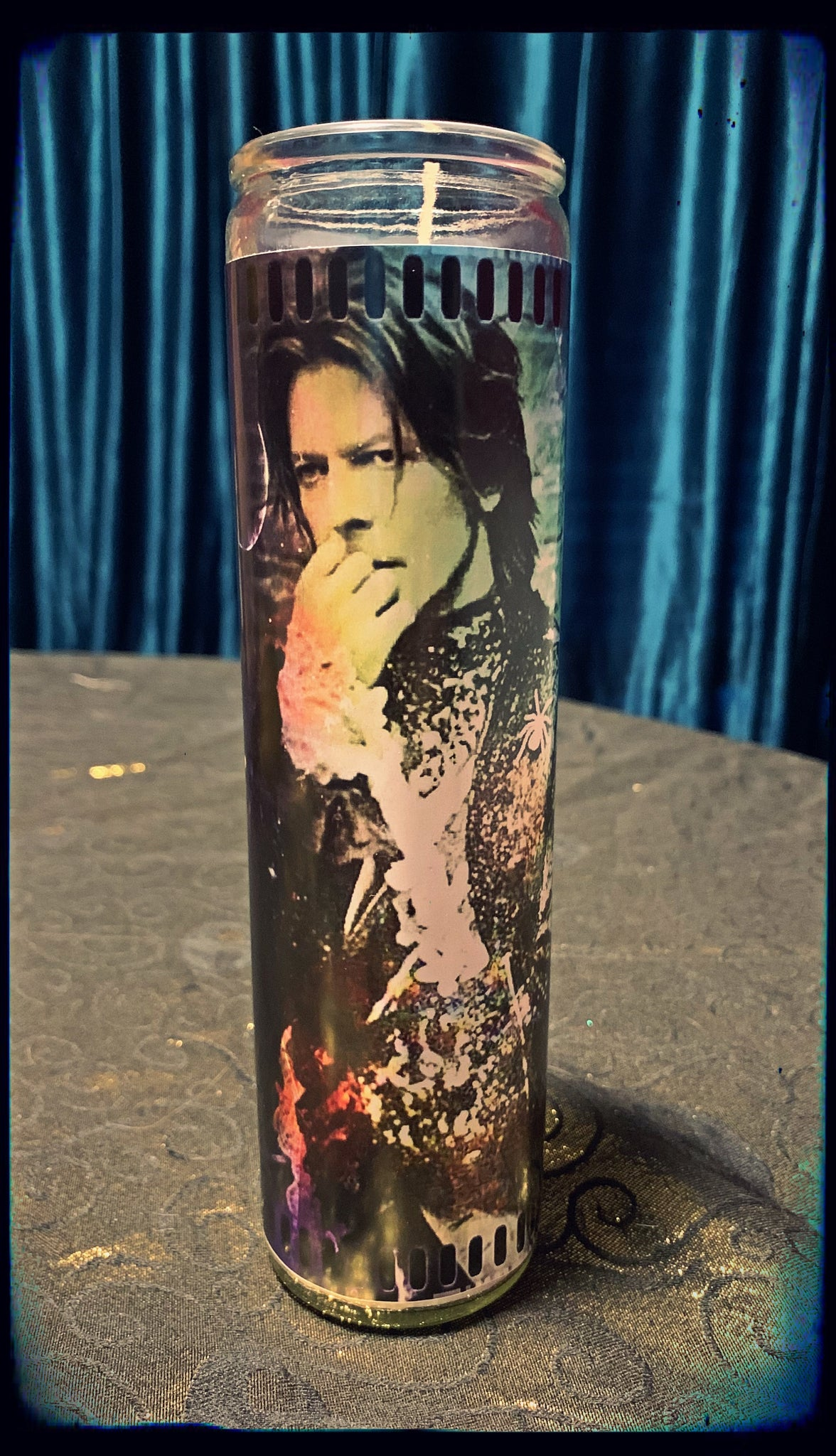 David Bowie devotional candle~