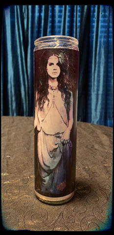 Lana Del Rey devotional candle~