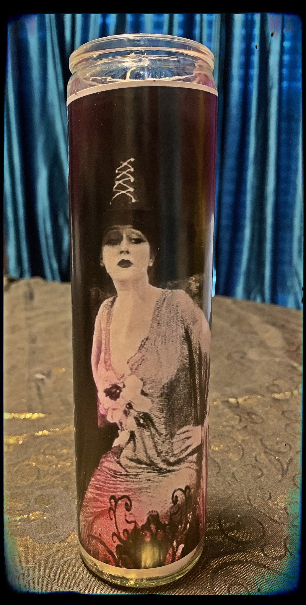 Vintage witch devotional candle~