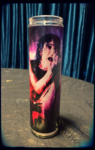 Trent Reznor devotional candle~
