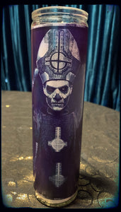 Papa Ghost Band devotional candle~