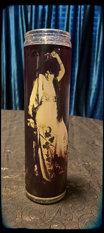 Off with his head vintage nasty woman devotional candle~