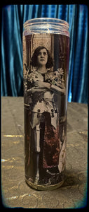 Joan of Arc devotional candle~