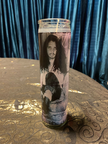 Chris Cornell devotional candle~
