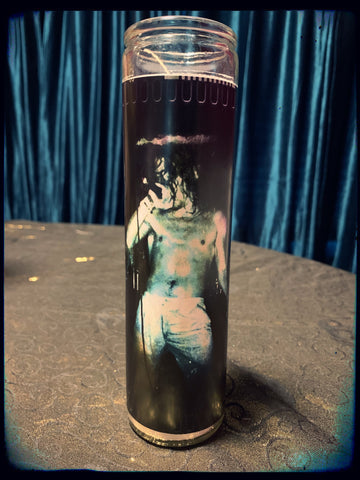 Dax Riggs devotional candle~