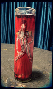 Ziggy Stardust devotional candle~