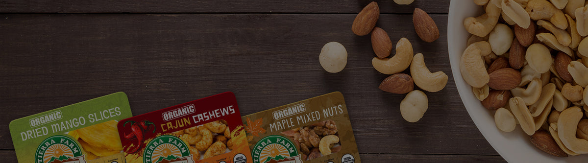 Tierra Farm | Certified Organic Nuts and Dried Fruit