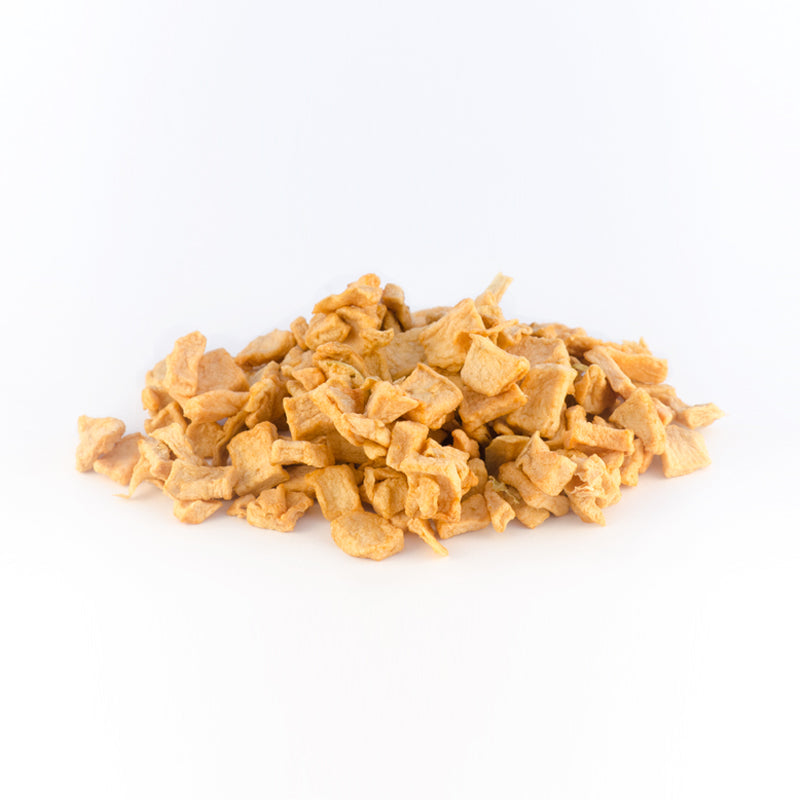 organic dried diced apples