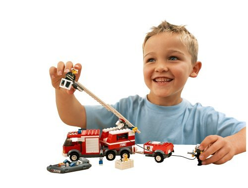 LEGO City 7239 Fire Truck (214pcs) - ShopSmartMarket