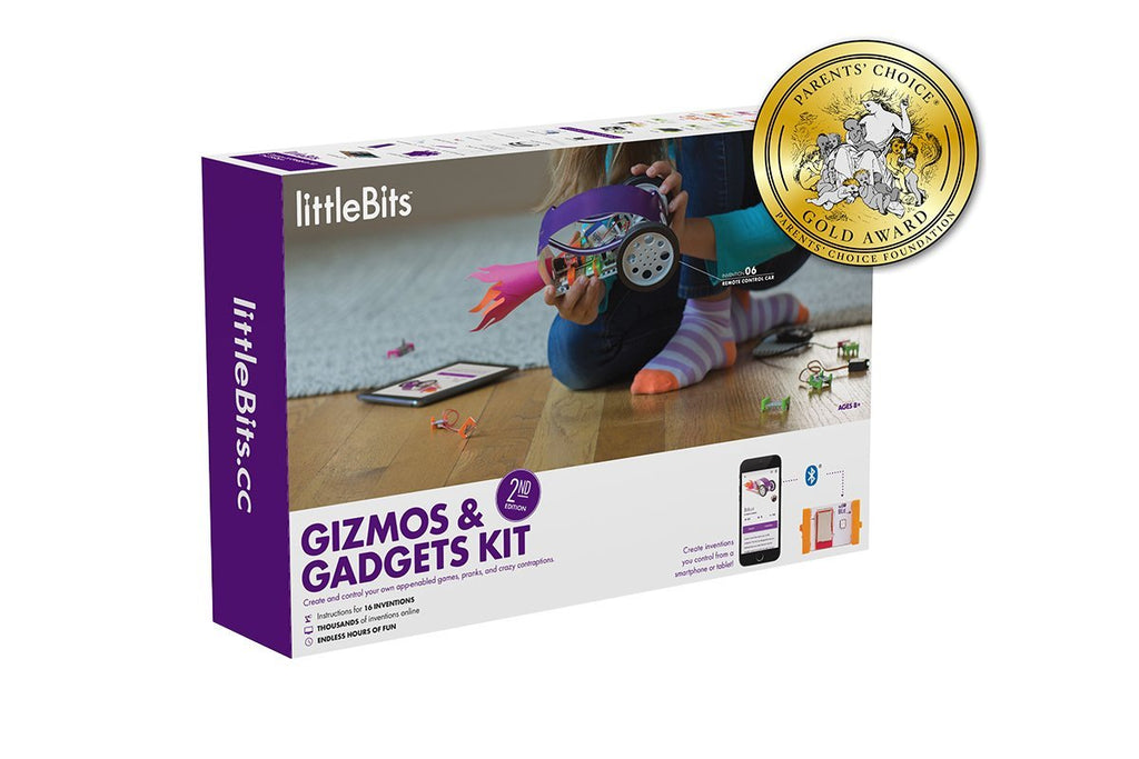 littleBits Gizmos and Gadgets Kit Second Edition - ShopSmartMarket