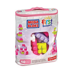 Mega Bloks Pink Big Building Bag - ShopSmartMarket