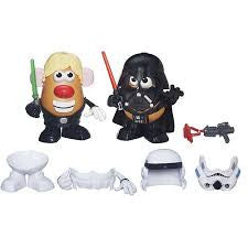 Star Wars Mr. Potato Head Darth Tater & Luke Frywalker Figure & Accessory Set by Playskool - ShopSmartMarket